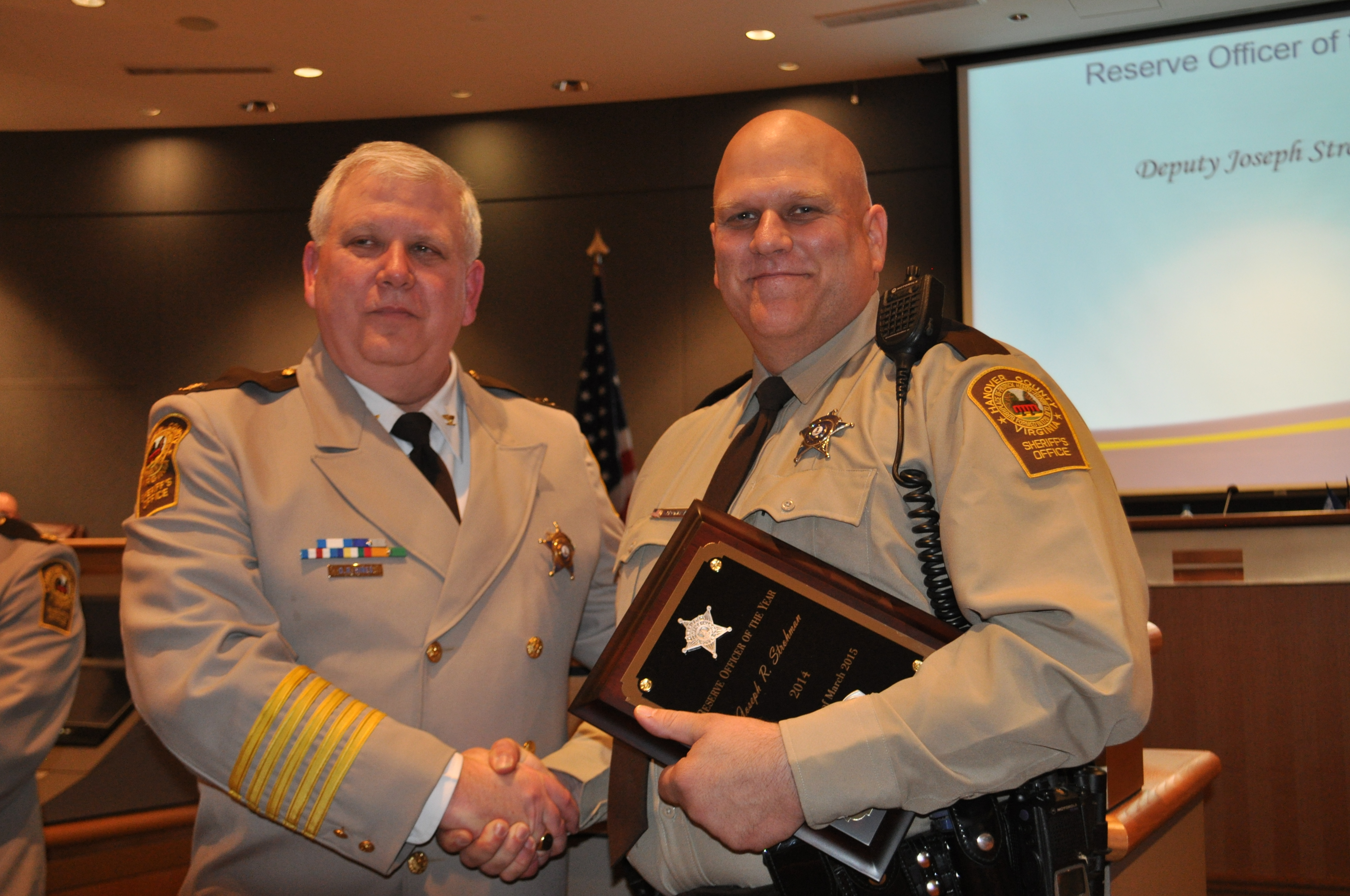 2014 Reserve Officer of the Year_Strohman