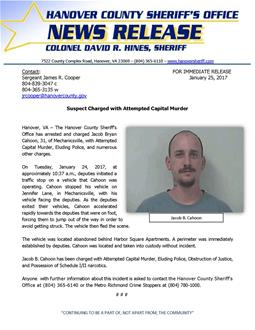 33 - HCSO - Suspect Charged with Attempted Capital Murder_January 2017_thumb.jpg